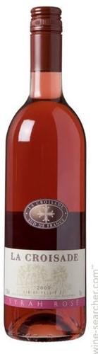 La Croisade Syrah Rose fles 0,25 l