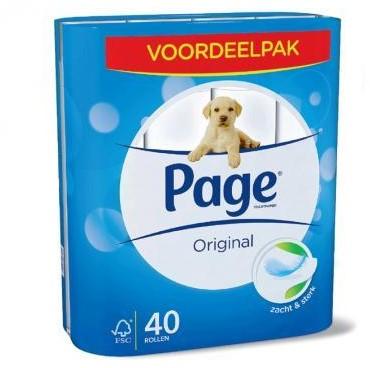 Page toiletpapier original pak 40 rol