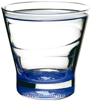 Chaudfonteine blauw glas krat 6 x 0,75 l