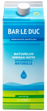 Bar Le Duc mineraalwater z koolzuur 6 x pak 2 l