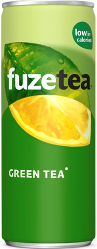 Fuze Tea Green Tea blik 24 x 0,25 l