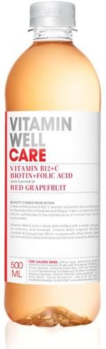 Vitamin Well Care Red Grapefruit pet 12 x 50 cl pet