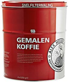 Alex Meijer Koffie roodmerk snelfilter blik 5 kg