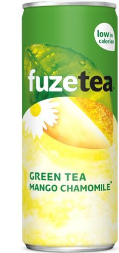 Fuze Tea Mango Chamonile blik 24 x 0,25 l