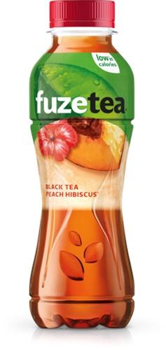 Fuze Tea Black Tea Peach Hibiscus pet 12 x 0,4 l