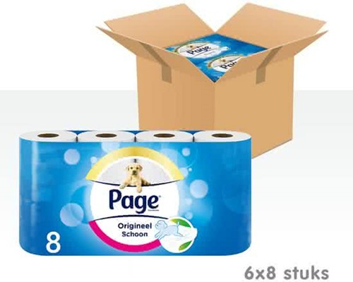 Page toiletpapier 6 x 8 rollen
