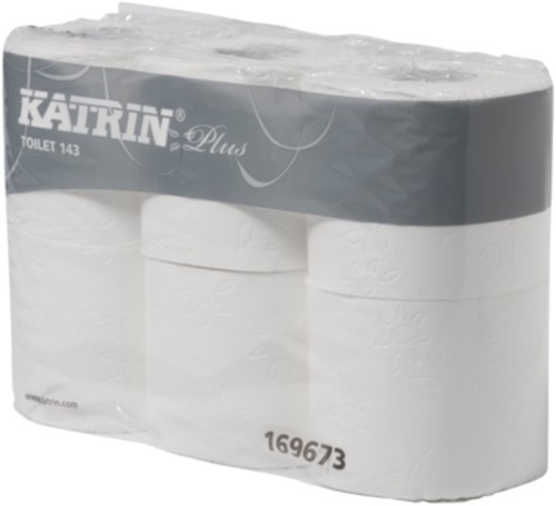 Katrin Premium 3 lgs Toiletpapier pak 7 x 6 rollen