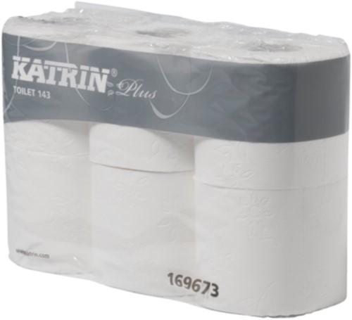 Katrin Premium 3 lgs Toiletpapier pak 8 x 6 rollen