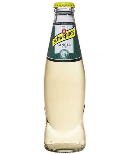 Schweppes Ginger Ale krat 24 x 0,2 l