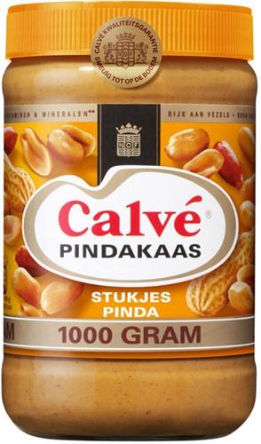 Calve pindakaas + noot pot 1 kg