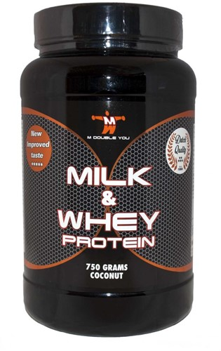 MDY Milk & Whey pot 750 gr vanille