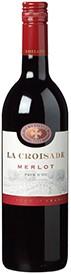 La Croisade Vin de Pays Merlot Rouge fles 0,75 l