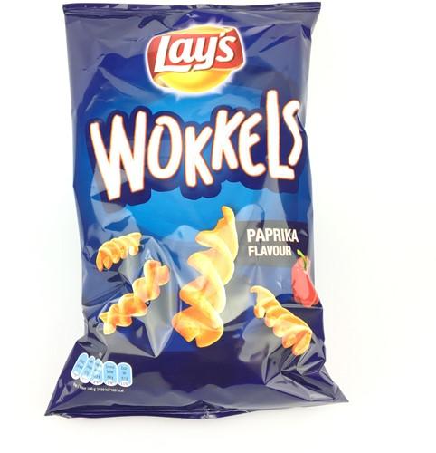 Lay's Wokkels paprika doos 18 x 115 gr