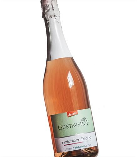 Gustavshof Druivensap wit alcoholvrij fles 0.75 l