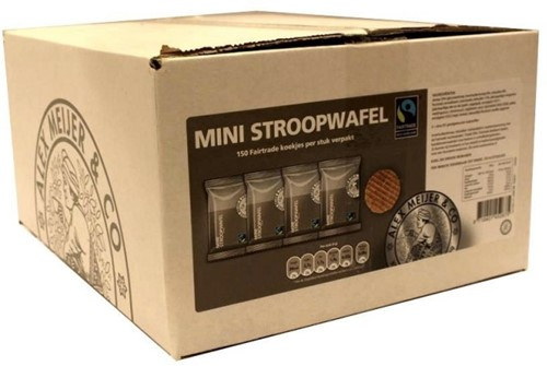 Alex Meijer Stroopwafels mini doos 150 st