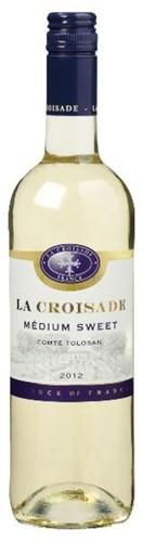 La Croisade Medium Sweet fles 0,75 l