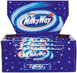 Milky Way single reep doos 28 st