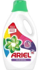 Ariel color vloeibaar fles 2,53 l 46 scoops