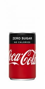 Coca Cola zero mini blik 24 x 0,15 cl
