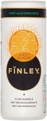 Finley Jazzy Ginger blik 8 x 25 cl
