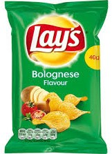 Croky Chips Bolognese zak 2 x zak 270 gram