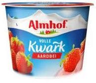 Almhof Aarbei volle Kwark 500gr.