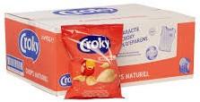 Croky Chips naturel  20 x 40 gr