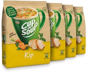 Cup à Soup Vending Kip doos  4 x zak  á  40 portie