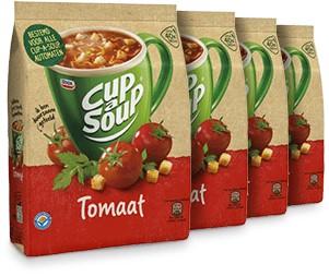 Cup à Soup Vending Tomaat doos 4 x zak á 40 portie