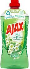 Ajax Allesreiniger fles 3 x 1,25 l fleurs lente