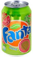 Fanta Exotic (int) blik 24 x 0,33 l