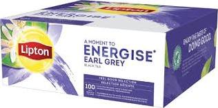 Lipton Feel Good Earl Grey doos 100 st