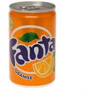 Fanta Orange mini blik 24 stuks  x 0,15 cl