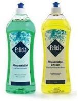Felicia afwasmiddel citroen fles 2 x 1 l
