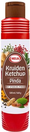 Hela Kruiden ketchup Pinda 800 ml