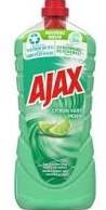 Ajax Allesreiniger fles 3 x 1,25 l limoen