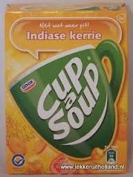 Cup a Soup doos 21 Indiase Kerry
