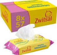 Zwitsal billendoekjes sensitive doos 8 x 57 st