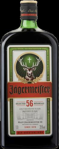 Jägermeister fles 1 l
