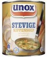 Unox Stevige Soep Kip 12 blikken a 800 ml