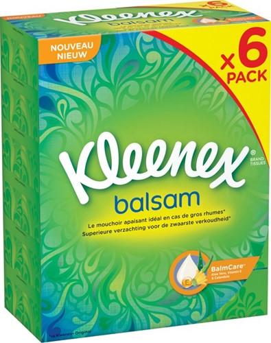 Kleenex Tissue Box Balsam 6 x 72 stuks