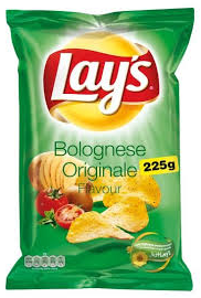 Lay's Bolognese 15 x 225 gr