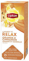 Lipton Feel Good Relax Orange&Cinnamon 25 st.