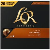DE L'Or Espresso Lungo Elegante capsule 20 st