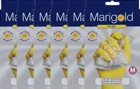 Marigold huishoudhandschoenen classic medium 6 st