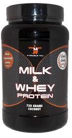 MDY Milk & Whey pot 750 gr aardbei