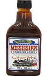 Mississippi Barbecue Sauce sweet & spice fl 510 gr