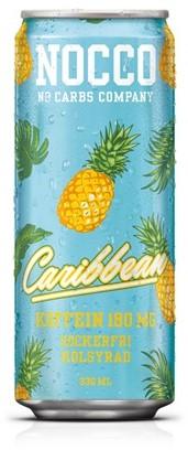 Nocco Caribbean BCAA blik 12 x 0,33 l