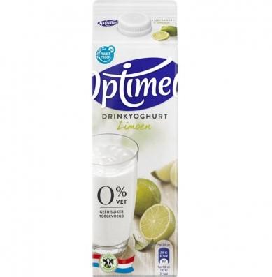 Optimel Drink Limoen pak 1 l