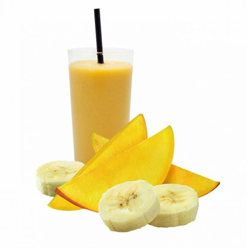 Palm Beach Fruitmix smoothie (mango-banaan) doos 20 x 150gr